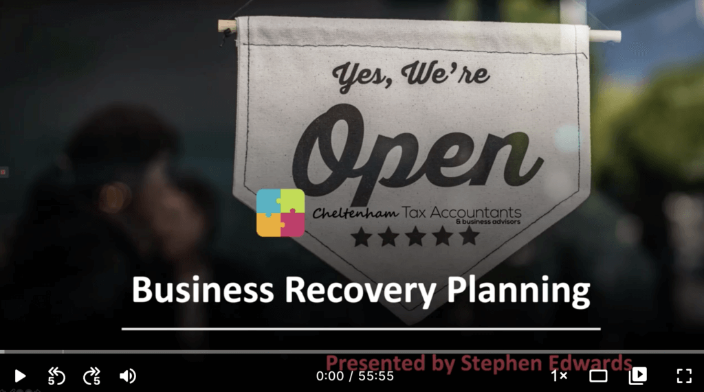 Business Recovery Planning