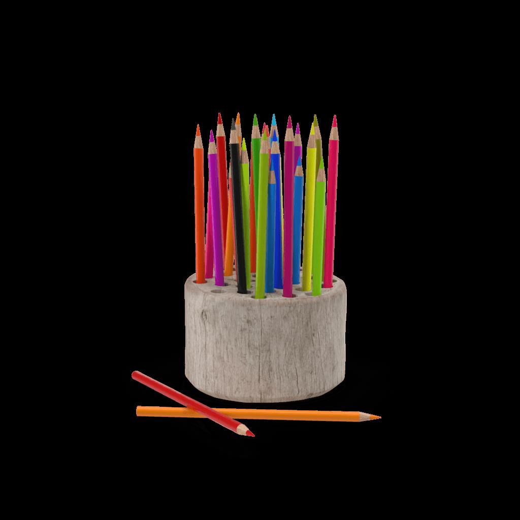 pot of pencils